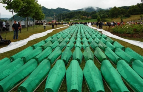 Burial of 465 identified Bosniak civilians (July 11, 2007)