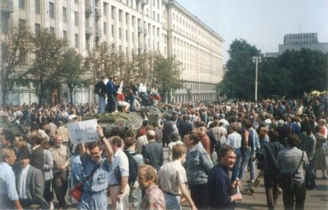 Mass demonstration in Moscow