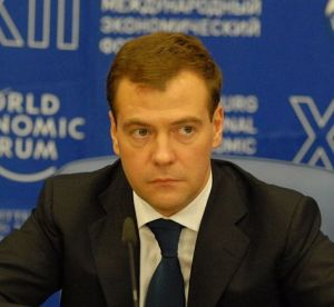 Dmitry Medvedev at World Economic Forum