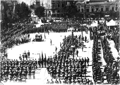 The 11th Red Army of the Russian SFSR occupies Tbilisi, 25 February 1921.
