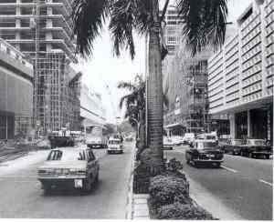 Shenton Way in 1970