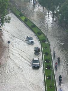 Flooding in Hanoi