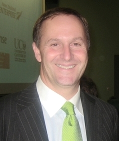 John Key PM of New Zealand