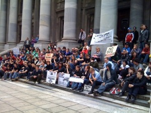 Adelaide protest