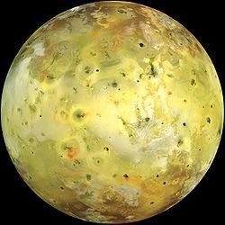 Io moon of Jupiter