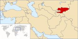 kyrgyzstan-location