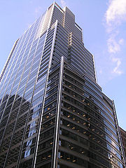 The UBS Tower in Chicago