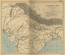 The Mutiny from The Cambridge Modern History Atlas