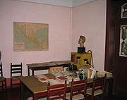 Trotsky Study in Coyoacán