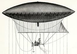 Airship Giffard 1852