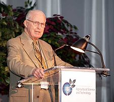 Norman Borlaug in June 2003
