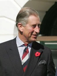 Prince Charles, current Prince of Wales