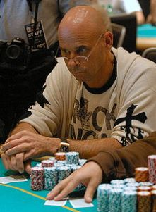 Laliberté at the World Poker Tour