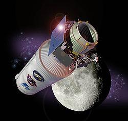 LCROSS spacecraft, artist's rendering